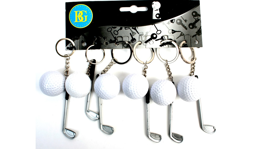 LLAVERO SET DE GOLF 8CM
