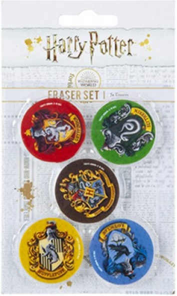GOMAS DE BORRAR HARRY POTTER 5PC